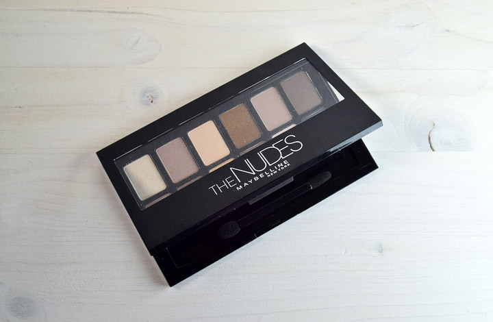 Resenha: The Nudes Palette Maybelline