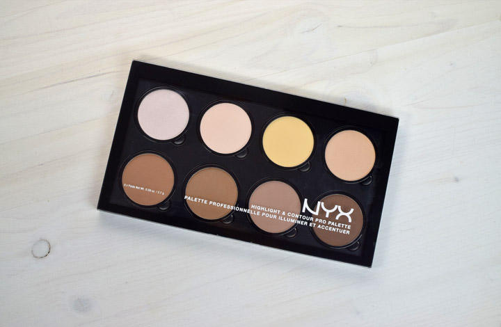 resenha nyx highlight contour pro palette 2beauty marina smith. Black Bedroom Furniture Sets. Home Design Ideas