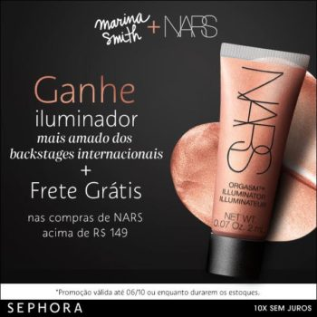 Promo NARS no site da Sephora *