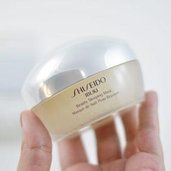 Produtos e Cuidados com a Pele: Shiseido Ibuki Beauty Sleeping Mask