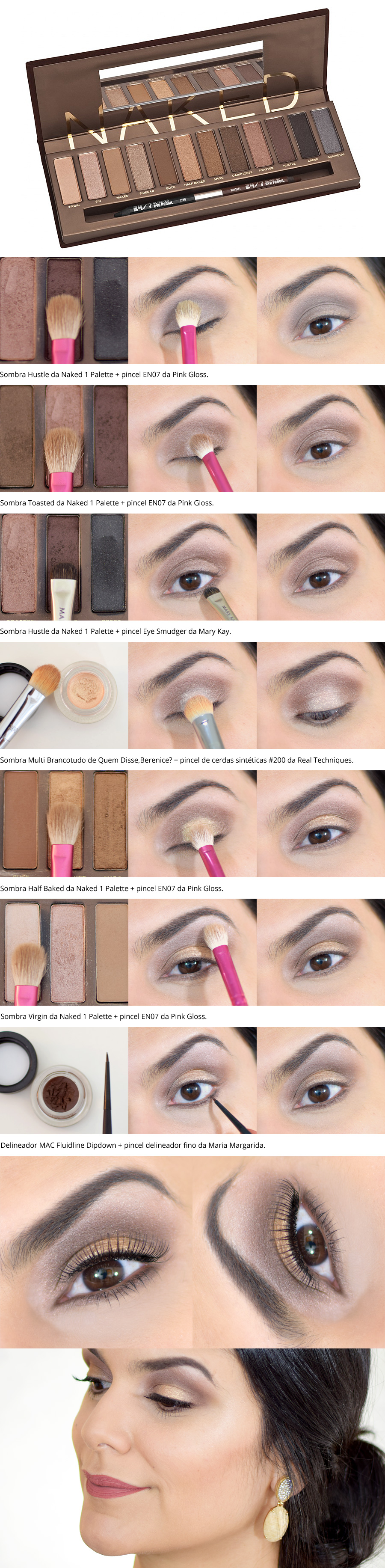 Tutorial Festivo Sutil com Naked 1