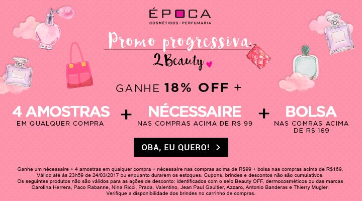 Image result for Promoções progressivas da Época Cosméticos