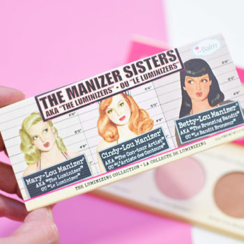 Resenha: The Balm The Manizer Sisters Palette