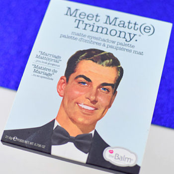 Resenha: The Balm Meet Matt(e) Trimony Palette
