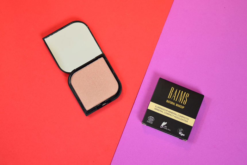 Resenha: Baims Natural Makeup Iluminador Mineral Compacto Warm & Glow