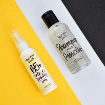 B5+ e Shampoo para Pincéis