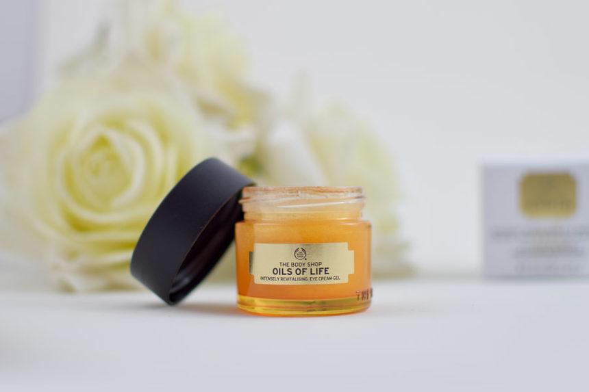 The Body Shop Gel Revitalizante Intensivo Para Olhos Oils Of Life