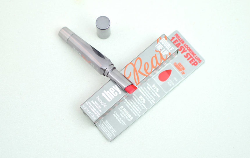 Benefit They're Real Double The Lip cor Revved-Up Red