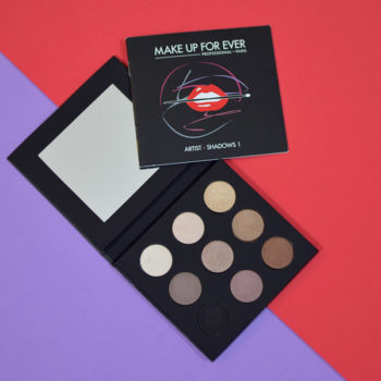 Resenha: Make Up For Ever Artist Palette Shadows 1
