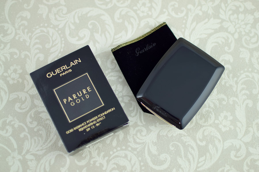 Guerlain Parure Gold Base em Pó Compacta
