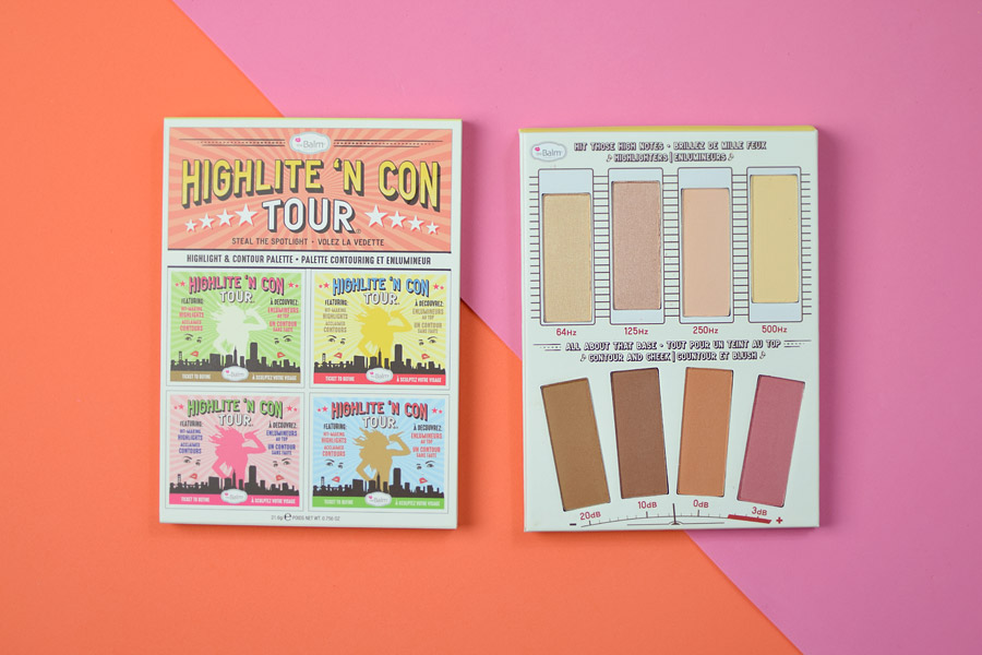 The Balm Highlite N' Contour Palette