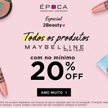Promo Maybelline no site da Época! *