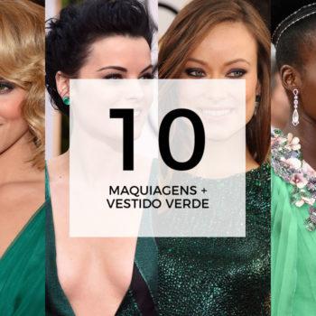 10 maquiagens para combinar com vestido verde