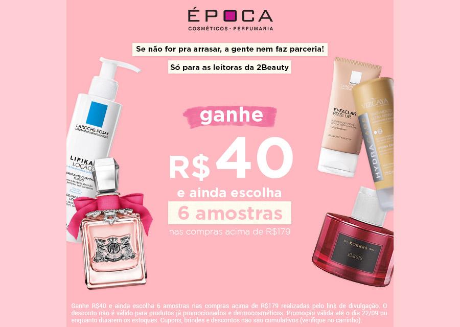 promoção época cosméticos