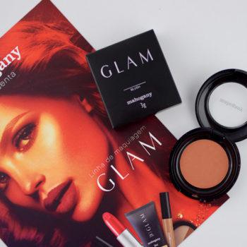 Resenha: Mahogany Blush HD Glam Makeup cor Mandarine