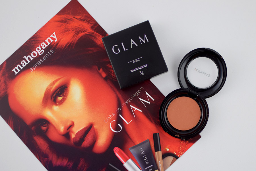 Mahogany Blush HD Glam Makeup