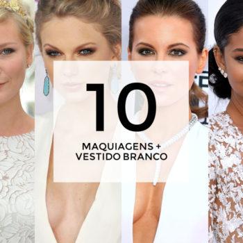 10 maquiagens para combinar com vestido branco