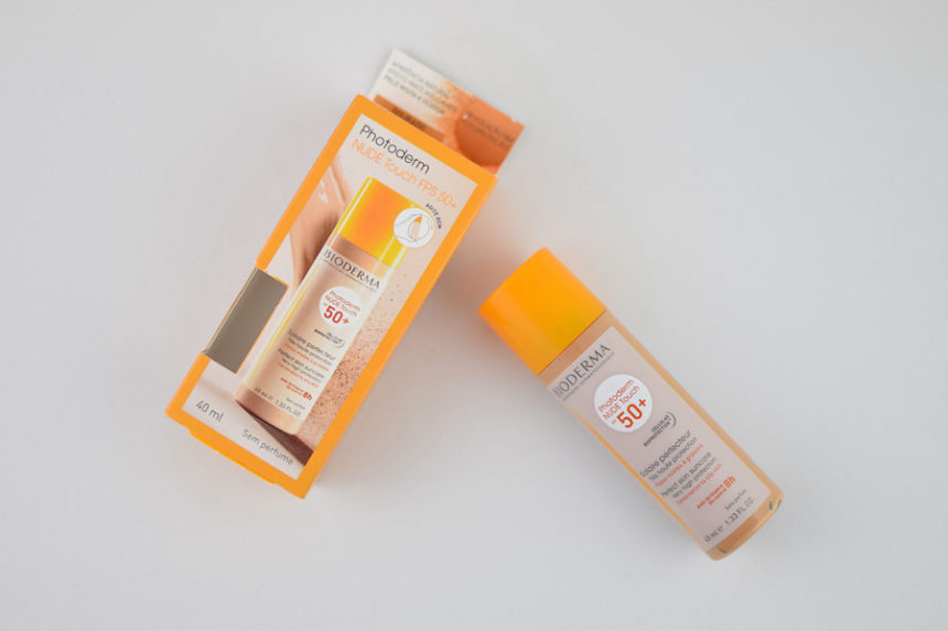 Resenha: Bioderma Photoderm Nude Touch FPS 50+