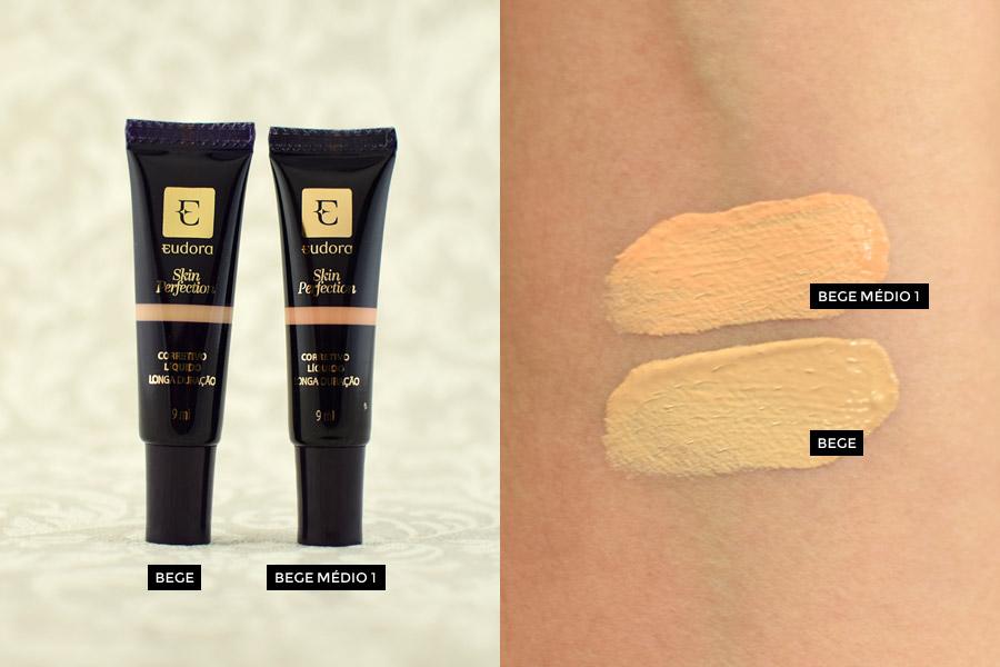 Eudora Skin Perfection Corretivo Líquido