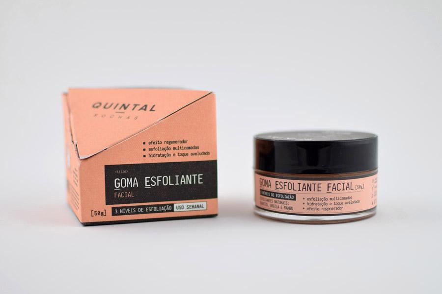 Goma Esfoliante Facial Quintal
