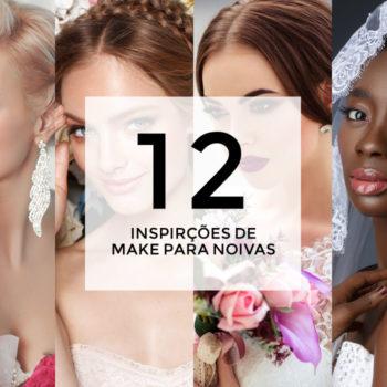 12 inspirações de maquiagem para noivas