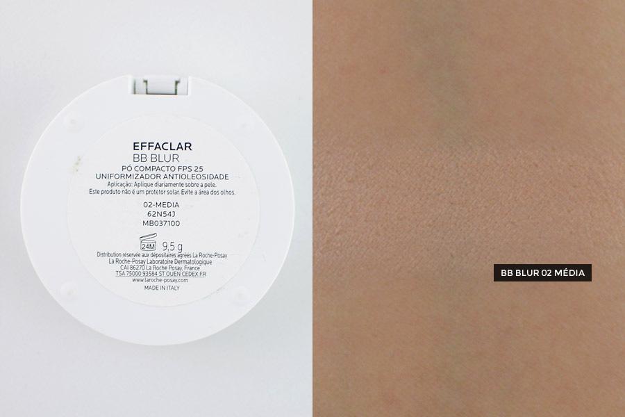 Pó Compacto La Roche-Posay Effaclar BB Blur