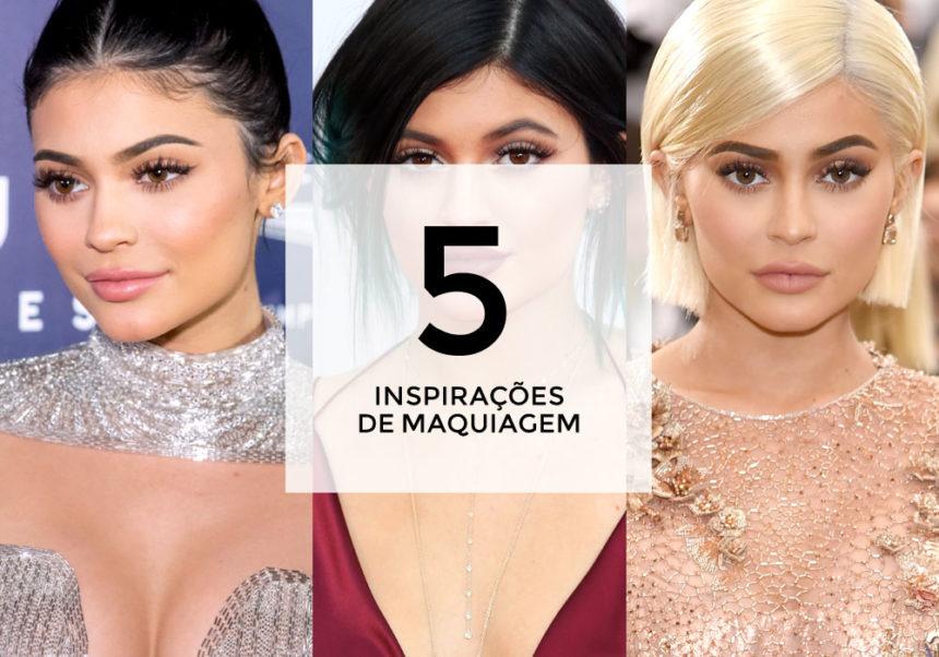 5 inspirações de maquiagem com Kylie Jenner