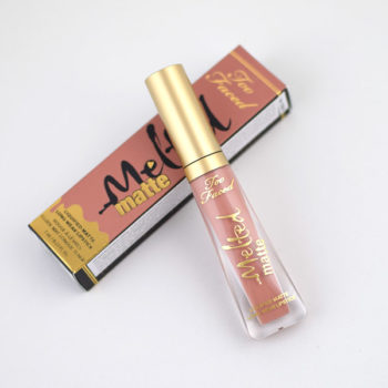 Melted Matte Too Faced cor Child Star