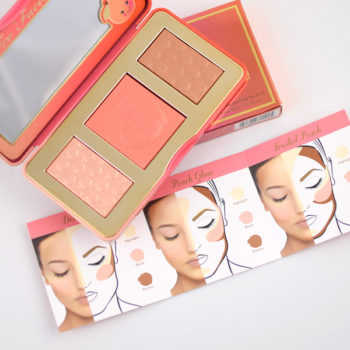 Resenha: Too Faced Sweet Peach Glow Bronzing, Blushing & Highlighting Palette