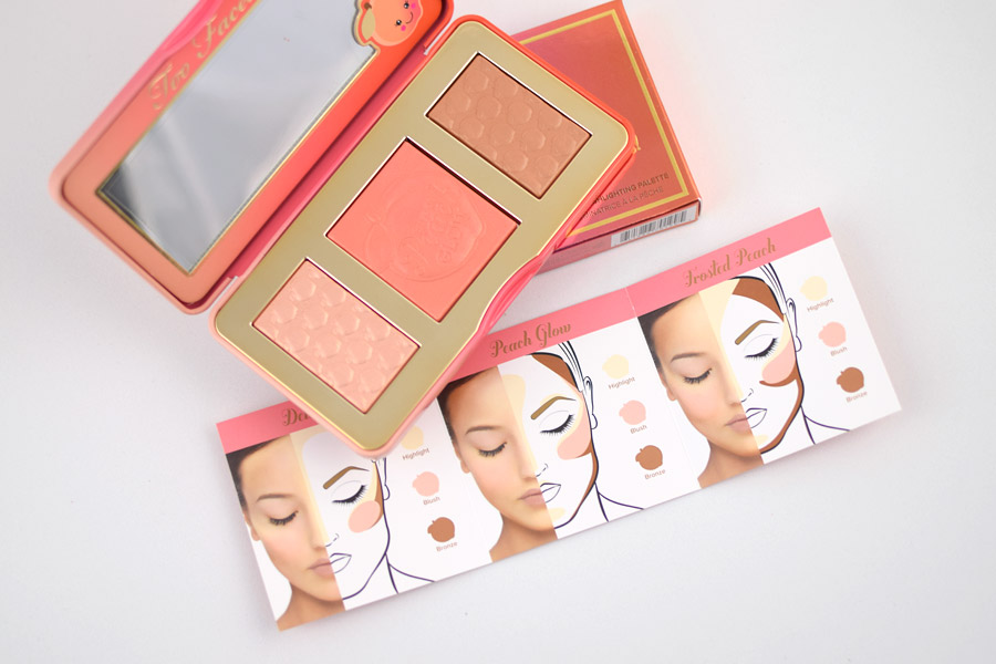 Too Faced Sweet Peach Glow Bronzing, Blushing & Highlighting Palette