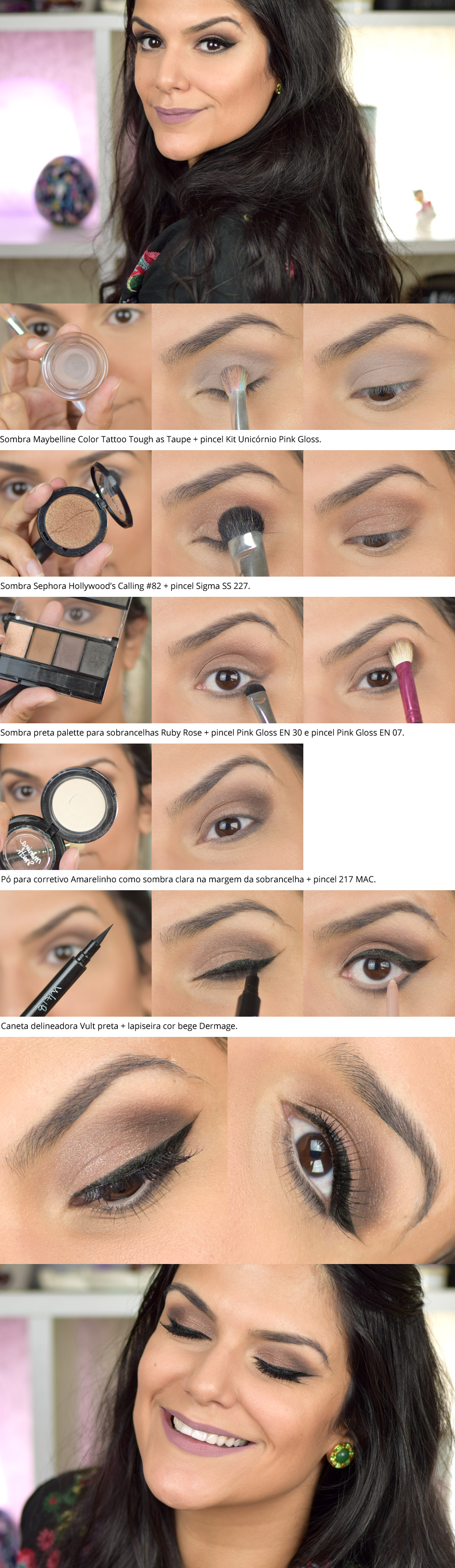 Tutorial: Look neutrão de 20 minutos