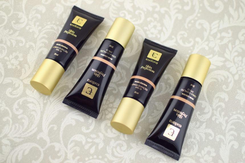 Resenha: Eudora Skin Perfection Base Líquida Longa Duração