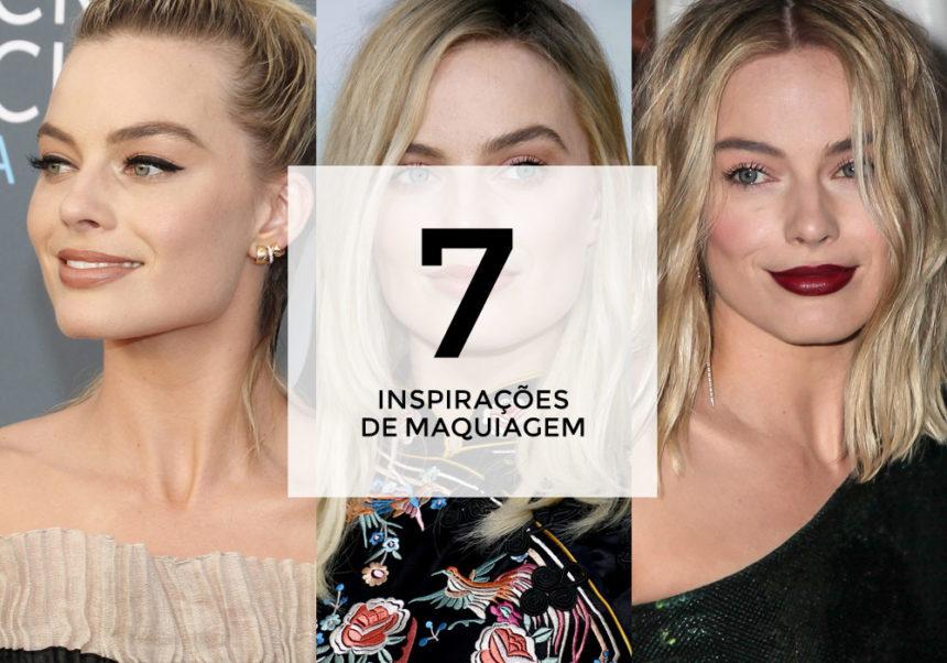 7 inspirações de maquiagem com Margot Robbie