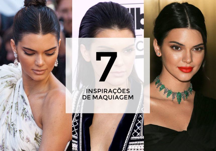 7 inspirações de maquiagem com Kendall Jenner