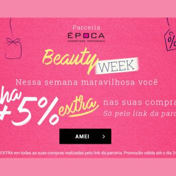 5% extra em produtos com desconto! *