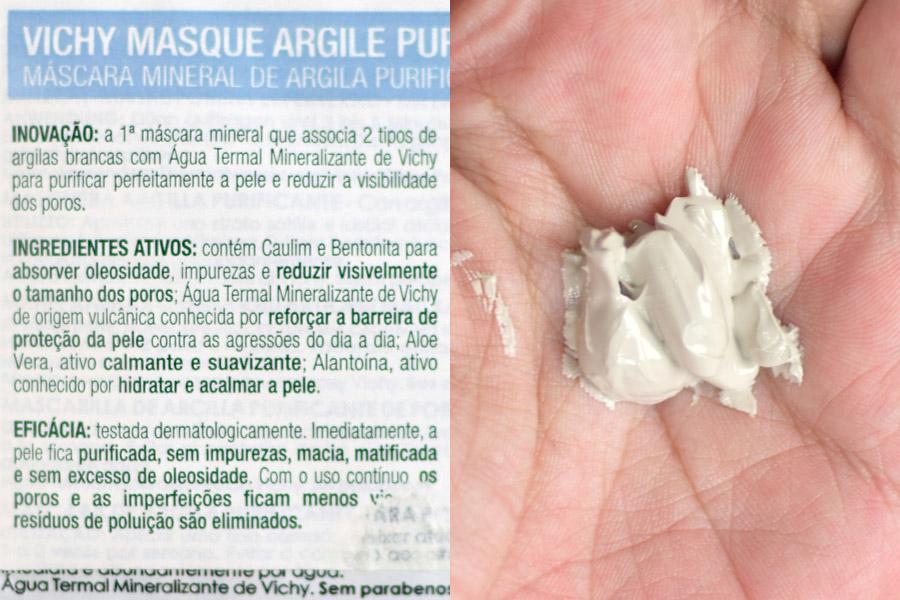 Vichy Máscara Mineral de Argila Purificante