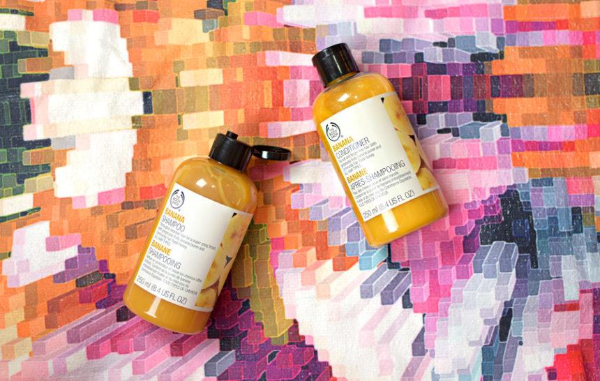 Shampoo e Condicionador de Banana da The Body Shop