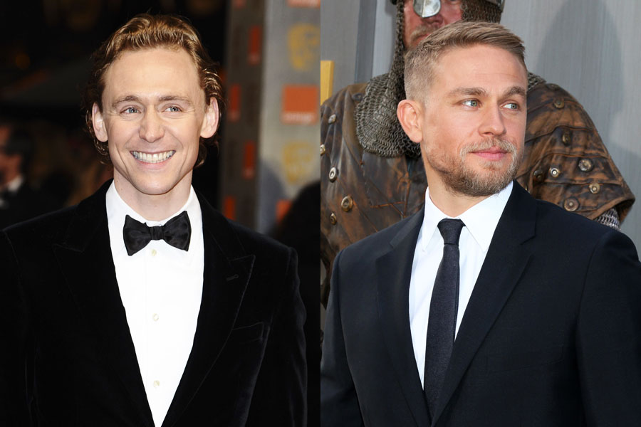 Tom Hiddleston e Charlie Hunnam