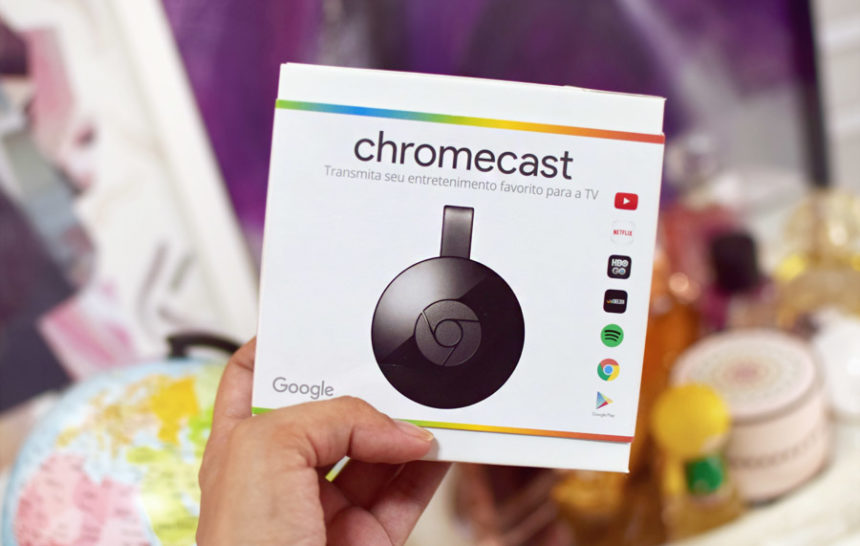 Não é make, mas é demais: Google Chromecast