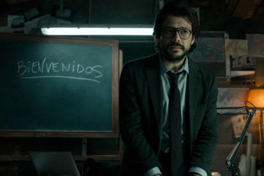 Ô, lá em casa… O Professor (Álvaro Morte)