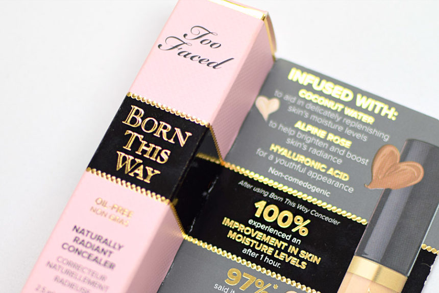Resenha: Too Faced Born This Way Concealer