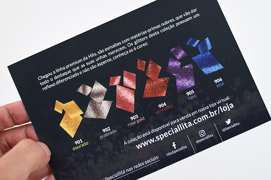 Coleção Glitter Flocado Linha Premium da Hits Speciallità