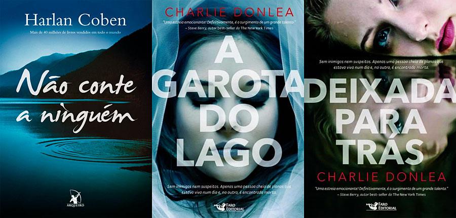 Três livros de investigação que são muito legais!