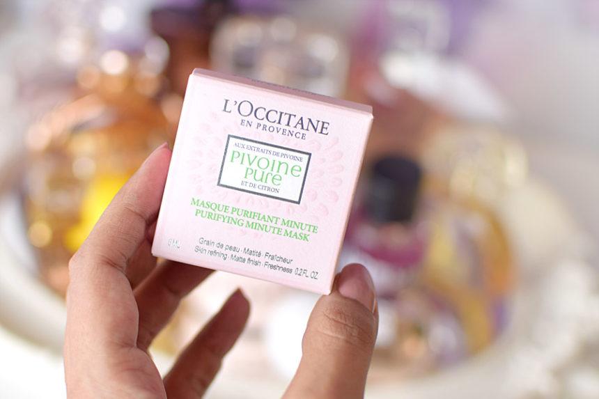 Máscara Facial Purificante Pivoine Flora de L'Occitane en Provence