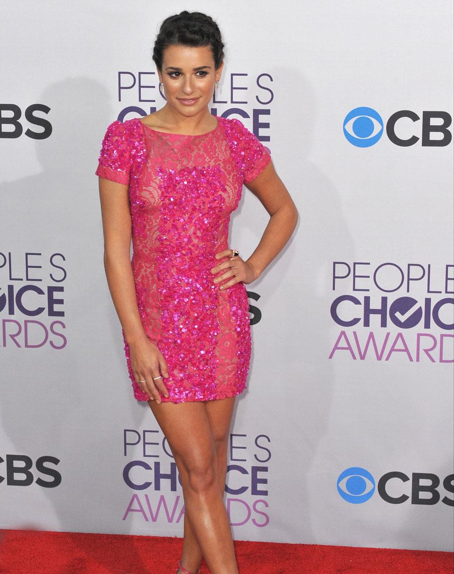 Maquiagem Lea Michele