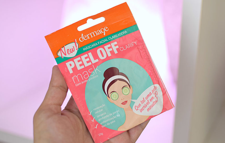 Dermage Peel Off Clarify Mask