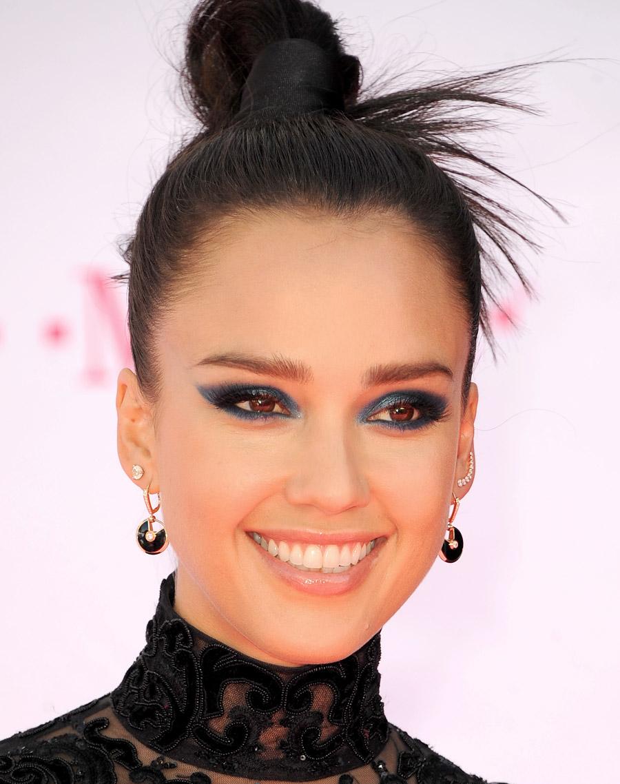 Maquiagem Jessica Alba