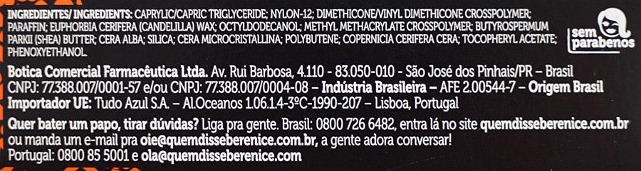 Primer Instamatte Bastão de Quem Disse, Berenice?