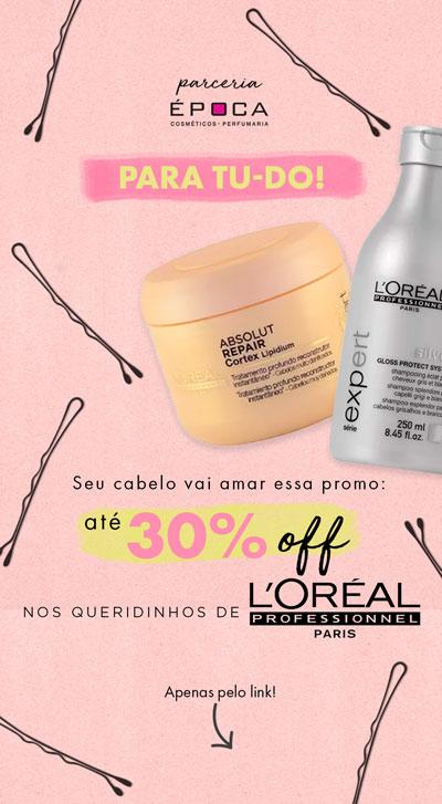 Promo L'Oréal Professionnel na Época Cosméticos