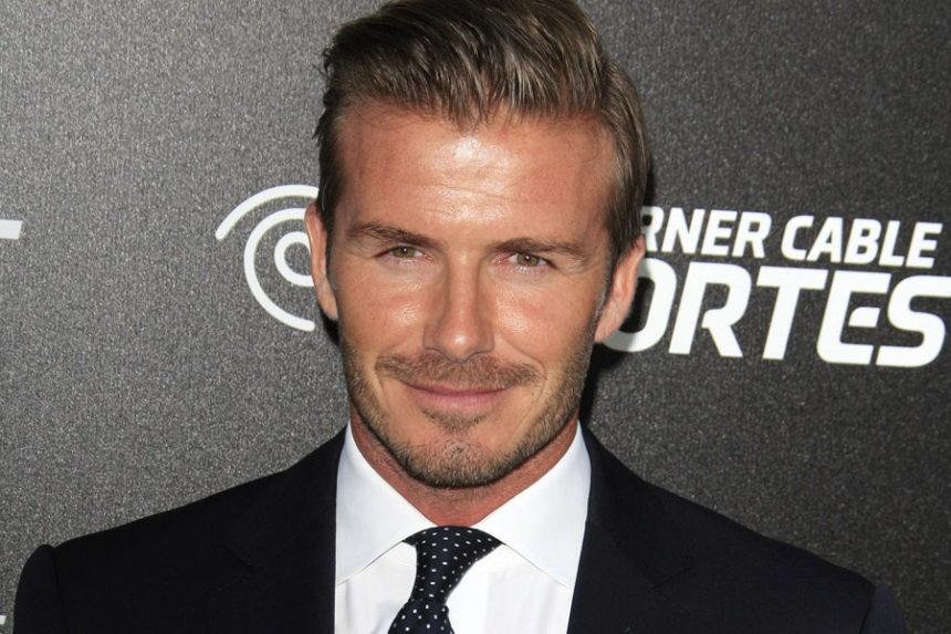 Ô, lá em casa… David Beckham